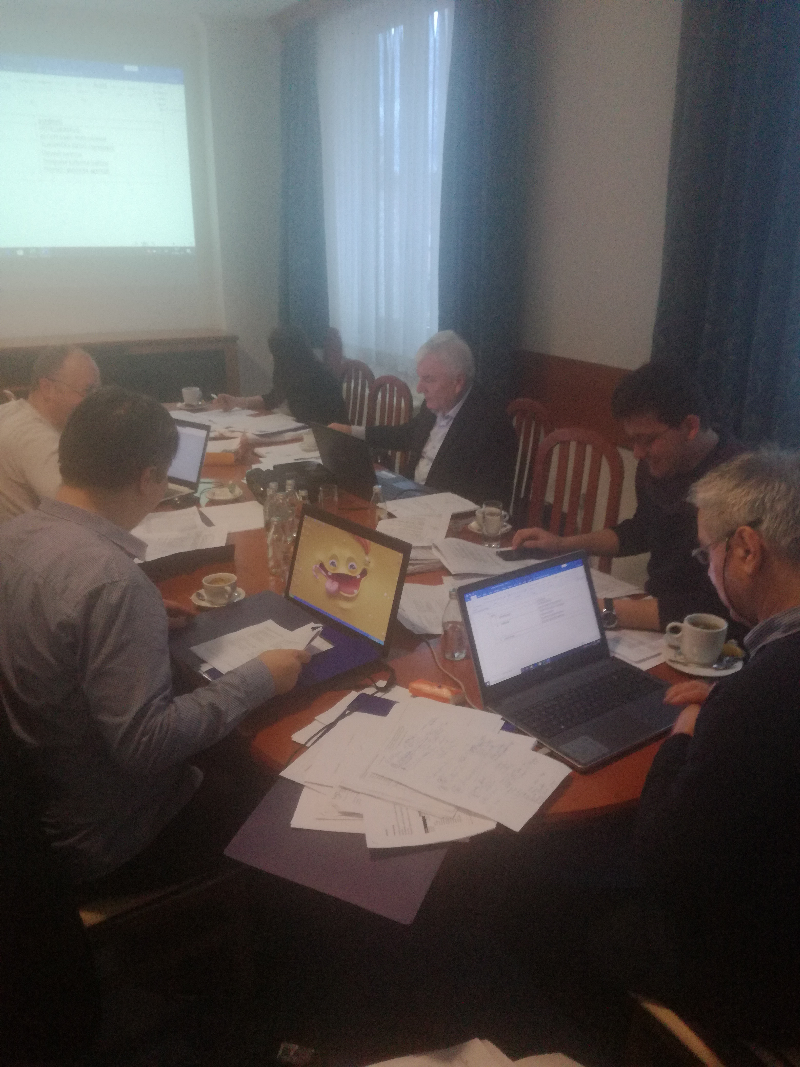 The First Working Group Meeting For The Hotel And Restaurant Technician Qualification Standard In Banja Luka